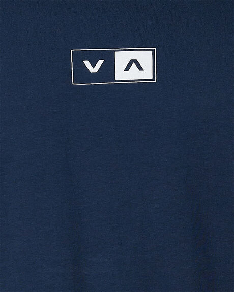 NAVY MARINE MENS CLOTHING RVCA TEES - RV-R107042-MYV