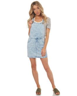 BLEACH BLUE WOMENS CLOTHING BILLABONG PLAYSUITS + OVERALLS - 6571512XBBLU