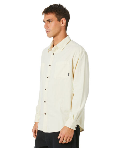 DIRTY WHITE MENS CLOTHING THRILLS SHIRTS - TH20-237ADRTWT