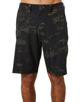 BLACK CAMO MENS CLOTHING BILLABONG SHORTS - 9595711BKCAM