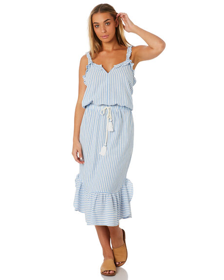 STILL WATER WOMENS CLOTHING RUSTY DRESSES - DRL0989SWR