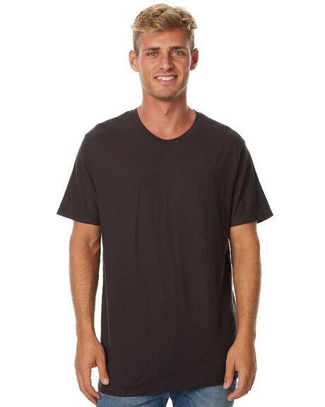 FADED BLACK MENS CLOTHING AFENDS TEES - 01-10-014FBLK