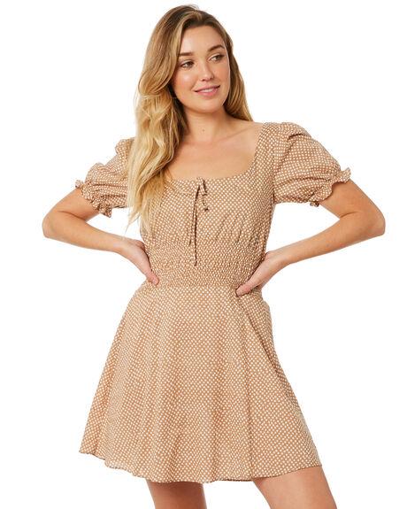 BEIGE OUTLET WOMENS MINKPINK DRESSES - MP1804459BEI