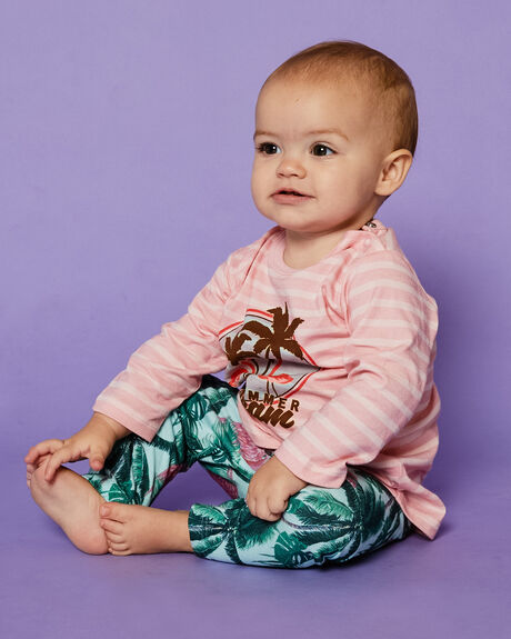 FLAMINGO PALM KIDS BABY PUMPKIN PATCH CLOTHING - 20B8011LFLPLM