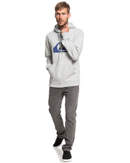 LIGHT GREY HEATHER MENS CLOTHING QUIKSILVER JUMPERS - EQYFT03922-SJSH