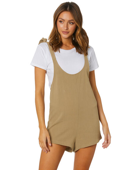 TAN WOMENS CLOTHING SWELL PLAYSUITS + OVERALLS - S8211454TAN