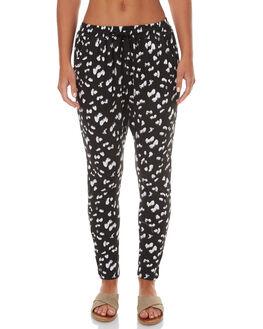 BLACK ANIMAL WOMENS CLOTHING BETTY BASICS PANTS - BB225SP17BLACK