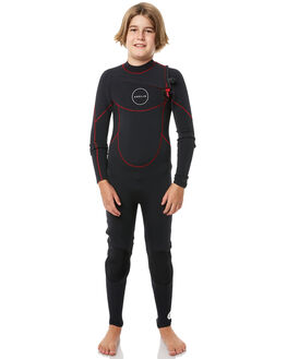 BLACK RED BOARDSPORTS SURF ADELIO BOYS - 32CJS18BLKRD