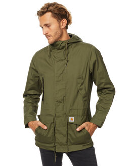 ROVER GREEN MENS CLOTHING CARHARTT JACKETS - IO1779862800