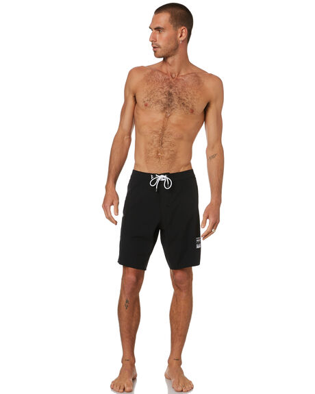 BLACK MENS CLOTHING FORMER BOARDSHORTS - FBO-201101BLK