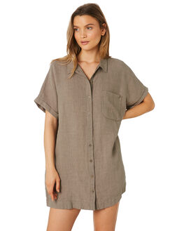 OLIVE WOMENS CLOTHING RHYTHM DRESSES - APR19W-DR07-OLI