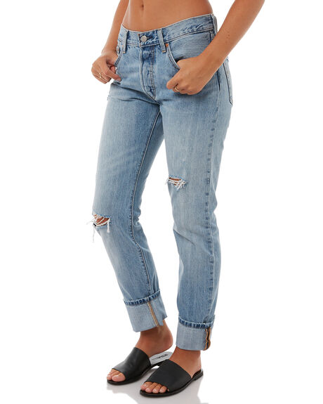 DENIM REBEL WOMENS CLOTHING LEVI'S JEANS - 12501-0270DMR