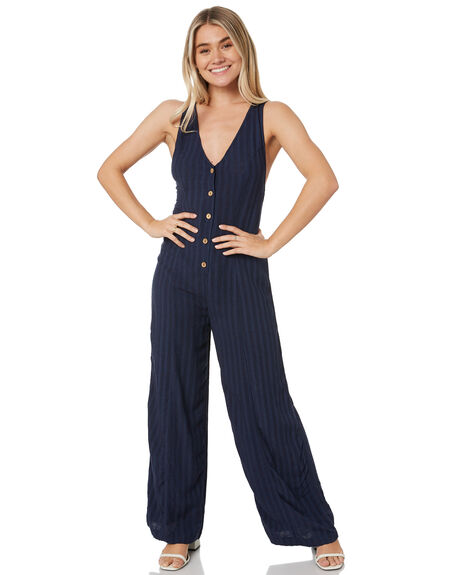NAVY WOMENS CLOTHING RIP CURL PLAYSUITS + OVERALLS - GDRCQ90049