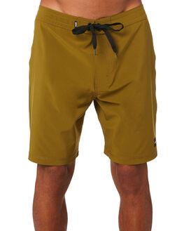 OLVE GREEN MENS CLOTHING BANKS BOARDSHORTS - BS0163OLG
