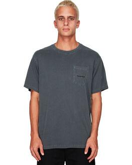 FLINT BLACK MENS CLOTHING ELEMENT TEES - EL-194014-IFL