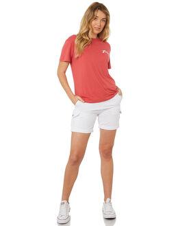 WHITE WOMENS CLOTHING RUSTY SHORTS - WKL0508WHT
