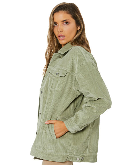WASHED SAGE WOMENS CLOTHING NUDE LUCY JACKETS - NU24184WSAGE