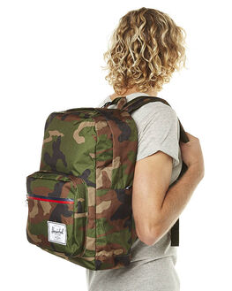 WOODLAND CAMO MENS ACCESSORIES HERSCHEL SUPPLY CO BAGS + BACKPACKS - 10011-00699-OSWCAM