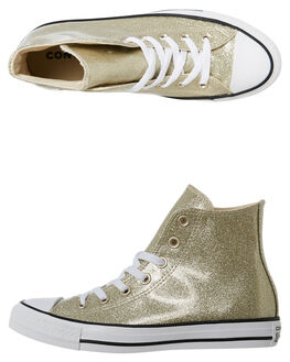 LIGHT GOLD WOMENS FOOTWEAR CONVERSE SNEAKERS - 562481CLGLD