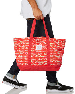 RED MENS ACCESSORIES HUF BAGS + BACKPACKS - AC00240RED