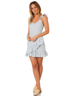 SAGE WITH WHITE WOMENS CLOTHING THE FIFTH LABEL DRESSES - 40181123-3SAGE