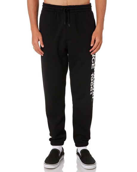BLACK MENS CLOTHING VANS PANTS - VNA3W4PBLKBLK