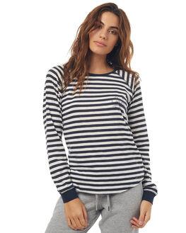 NAVY STRIPE WOMENS CLOTHING O'NEILL TEES - 402110621A