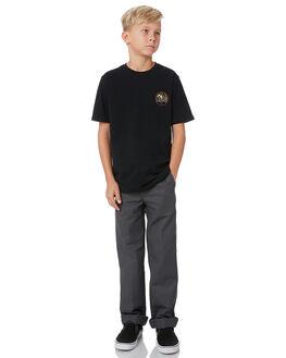 CHARCOAL KIDS BOYS DICKIES PANTS - QP873CHAR