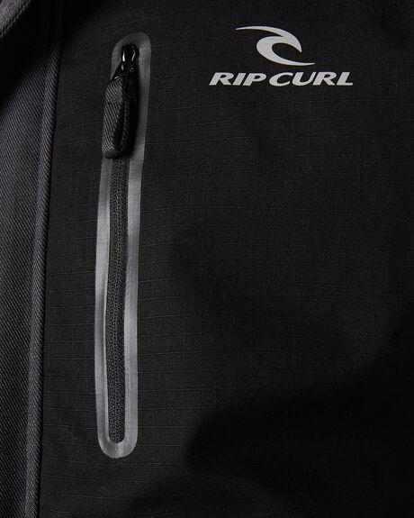 WASHED BLACK MENS CLOTHING RIP CURL JACKETS - CJKEC18264