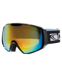 MATT BLK ORANGE REVO SNOW ACCESSORIES CARVE GOGGLES - 6044BKOR