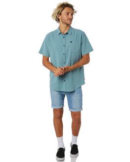 PACIFIC BLUE MENS CLOTHING GLOBE SHORTS - GB01916001PACBL