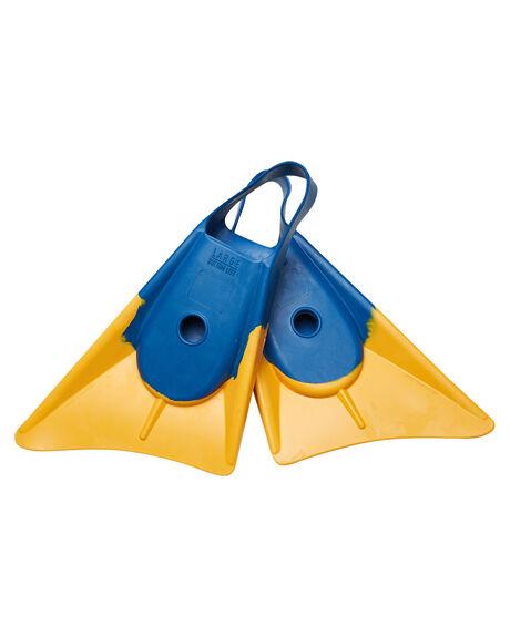 BLUE YELLOW BOARDSPORTS SURF NMD BODYBOARDS ACCESSORIES - N1BLUEYE