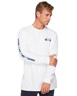 WHITE MENS CLOTHING QUIKSILVER TEES - EQYZT05283-WBB0