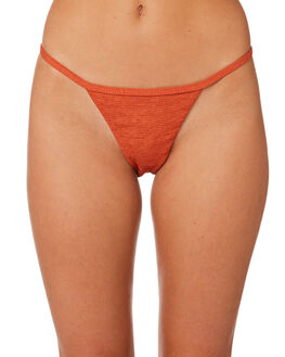 BURNT ORANGE WOMENS SWIMWEAR SOMEDAYS LOVIN BIKINI BOTTOMS - SS1806299ORNG