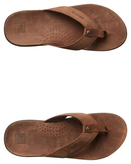 TAN MENS FOOTWEAR RIP CURL THONGS - TCTD101046