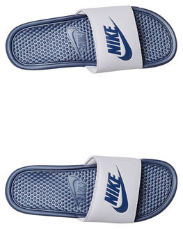 WOLF GREY MENS FOOTWEAR NIKE SLIDES - SS343880-024M