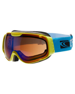 YELLOW BLUE REVO SNOW ACCESSORIES CARVE GOGGLES - 6051YELBL