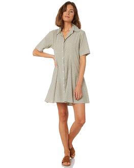 KHAKI WOMENS CLOTHING RUE STIIC DRESSES - WS18-11-KS-CBKHAKI