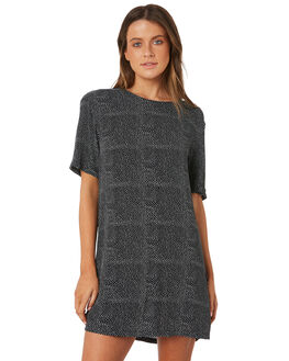 BLACK WOMENS CLOTHING BILLABONG DRESSES - 6582471BLK