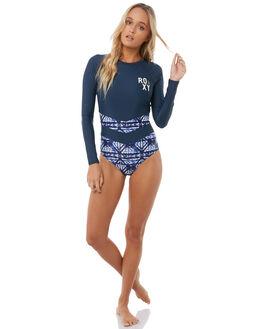 DRESS BLUES GEOMETRY SURF RASHVESTS ROXY WOMENS - ERJWR03214BTK8