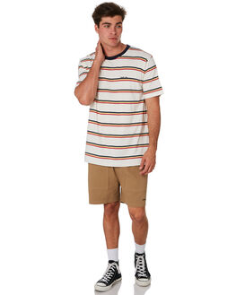 CALI STRIPE MENS CLOTHING RPM TEES - 9PMT01BCALI