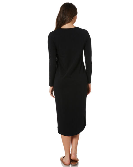BLACK WOMENS CLOTHING SILENT THEORY DRESSES - 6034040BLK