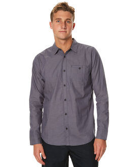 NAVY MENS CLOTHING OURCASTE SHIRTS - W1030NVY
