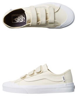 MARSHMALLOW WOMENS FOOTWEAR VANS SKATE SHOES - VN-08HSFS8MARS