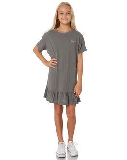 NAVAL GREY KIDS GIRLS RUSTY DRESSES + PLAYSUITS - DRG0002NVG