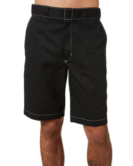 BLACK OUTLET MENS DICKIES SHORTS - K4190808BLK
