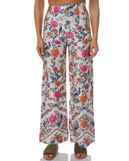 AVORIO WHITE WOMENS CLOTHING ARNHEM PANTS - AC01LPWHT