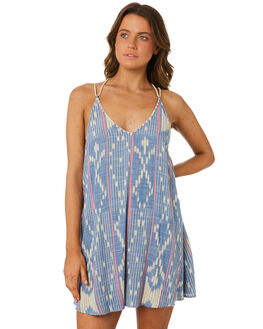 BLUE WOMENS CLOTHING RIP CURL DRESSES - GDRZA30070