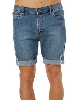 TRASH BLUE MENS CLOTHING GLOBE SHORTS - GB01716010TRBLU