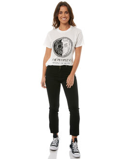 OFF WHITE WOMENS CLOTHING THE PEOPLE VS TEES - AW18W006OWHT